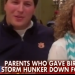 Auburn fans who gave birth to baby girl on side of the road during Atlanta snow storm go 'On The Record with Greta Van Susteren'