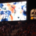 Video of Rod Bramblett's call of the final play of the 2013 Iron Bowl being played in Jordan-Hare right after Auburn beat Alabama