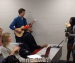 Cam Newton receives belated Singing Valentine during class (again); students from Auburn Wesley Foundation serenade the AU senior with One Direction's 'What Makes You Beautiful' during Tuesday class