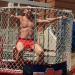 Here's Auburn basketball coach Bruce Pearl getting dunked in a dunk tank for an Auburn fraternity charity event