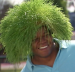 VIDEO: Guillermo plants Scotts EZ Seed grass on Frank Thomas' head on 'Jimmy Kimmel Live!'