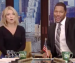 Michael Strahan using the Iron Bowl to explain football to Kelly Ripa on 'Live! with Kelly and Michael'