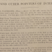 Football rules 'and other pointers of interest' from the 1914 Auburn-Vanderbilt program