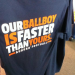 Dick's Sporting Goods is selling Auburn ball boy shirts