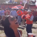 VIDEO: Watch an LSU fan eat a corn dog dangling from a drone at Auburn's amazing Tigerprowler tailgate