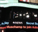Will Muschamp announced as Auburn's new defensive coordinator on New York City's Times Square news ticker