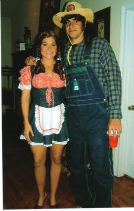 Auburn fans are thinking back to those old QB costumes this Halloween.