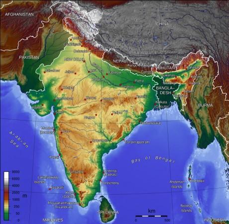 India_topo