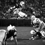 David Langner catches air in 1972 AP Sports Photo Of The Year