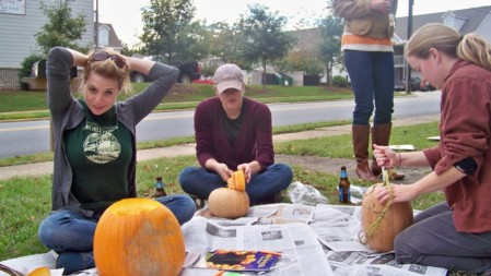 Opelika native, Auburn mistress, and War Eagle Woman Rebecah Boynton gets pumpkin in her boots for her debut column for TWER.