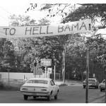 Punt, Bama, Punt: Auburn scenery, Dec. 1, 1972 [Go To Hell Bama Gallery]