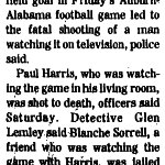Wide Wrong: 'Auburn-'Bama Argument' over field goal 'Ends with Fatal Shot'