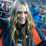 Team of Destiny, Girl of Dreams: actress / model Molly Sims at the Iron Bowl