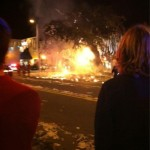Where there's smoke there's fire (and there was smoke at Toomer's Corner last night)