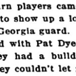 Pat Dye responds to 'loudmouth' allegations from 1959 Auburn-Georgia game
