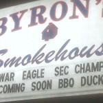 Byron's new menu