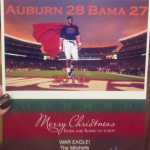 Cam Newton Christmas Card (sent to The Malzahns)