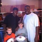 Auburn football team invites at-risk youth to ring in New Year at Dreamland BBQ