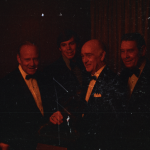 Rare candids of Super Sully at the 1971 Heisman Banquet