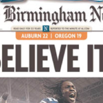 Front Page Fever: celebrating Auburn's national championship with Alabama's newspapers
