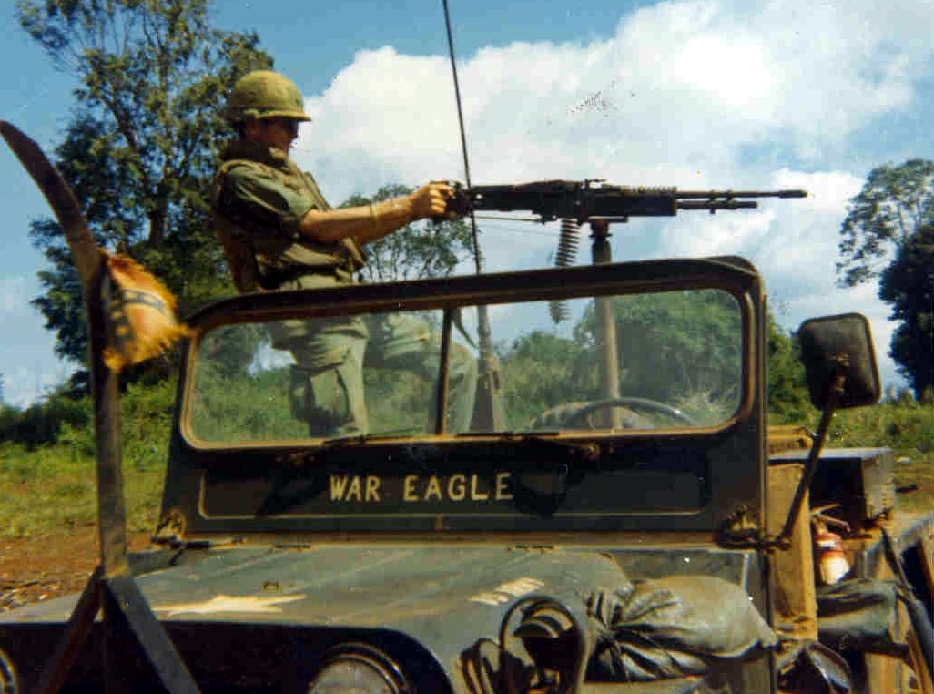 The War Eagle Jeep In Vietnam