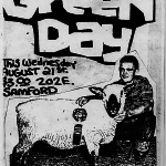 That time Green Day played a house show in Auburn