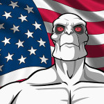 "Frisky Dingo welcomes you to you're ""Doom!"" (it makes sense if you've seen it, grammar and all)"
