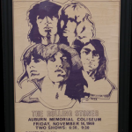 Poster for 1969 Rolling Stones concert in Auburn appraised for $5,000 on 'Antiques Roadshow'