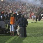 A Photo Essay On Saturday's Auburn vs. Alabama Flag Football Charity Iron Bowl