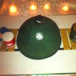 Auburn Tailgater's Groom's Cake