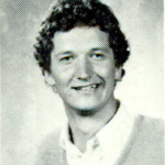 Portrait of Apple CEO Tim Cook as a Young Auburn Student
