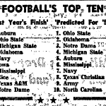 Feelin' Great in '58: Notes On the Only Auburn Team To Defend A National Championship (For Two More Days), Part One