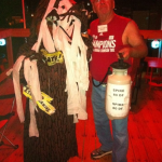Harvey Updyke and Toomer's Oak costumes spotted at Halloween party