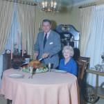 Evelyn Jordan, widow of Shug Jordan, passes away at 98; never-before seen photos of the Jordan's carving a turkey