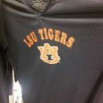 LSU hoodie, Auburn logo