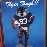 Vintage Aubie poster wants you to vote AUBIE, now in the Final Four