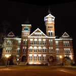 Samford Hall goes blue for World Diabetes Day