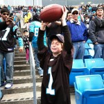 Cam blesses boy with touchdown ball on Christmas Eve