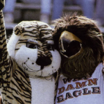 That time students at St. Joseph's University—and their Hawk mascot—adopted Auburn football