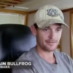 "Captain Bullfrog from The History Channel's ""Big Shrimpin'"" goes against the Tide"