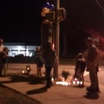 "Friends of local Auburn legend Johnny ""Mr. Penny"" Richmond hold impromptu vigil"