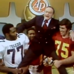Pat Sullivan orders a 'Wishbone T' on Bob Hope on the 1971 All-American Awards Show