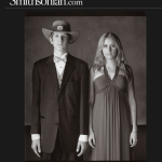 Stud rocks straw Auburn hat at prom for Smithsonian photo shoot
