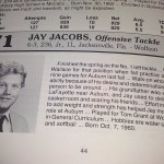 Jay Jacobs, Offensive Tackle