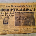 War Eagle Relics is black and white and read all over
