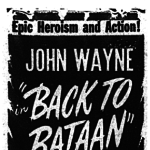 [UPDATED] Auburn man among real POWs featured in 'Back To Bataan'; John Wayne film premiered at Tiger Theatre