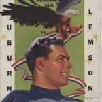 Vintage (Pre-Phil Neel) Auburn-Clemson program covers