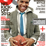 Cam Newton on the cover of GQ