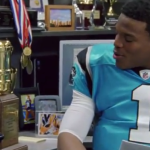 Cam Newton's new ESPN Sports Center commercial