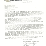 Tom Landry's letter to Shug about the 1972 NFL Draft